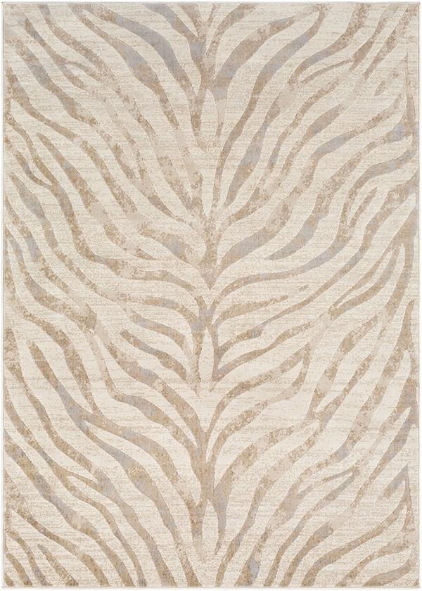 Light Gray, Beige, Khaki (CIT-2301) Animals / Animal Skins Area Rug