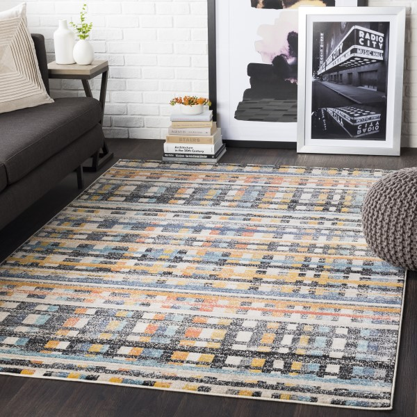 Coral (CIT-2353) Contemporary / Modern Area Rug