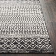 Product Image of Black, Light Gray, Medium Gray (ELZ-2307) Moroccan Area Rug
