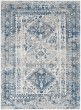 Product Image of Transitional Sky Blue, Light Grey, White (MNC-2313) Area Rug