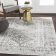 Product Image of Light Grey, White, Charcoal (FGA-2314) Transitional Area Rug