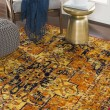 Product Image of Bright Orange, Bright Yellow (FGA-2316) Traditional / Oriental Area Rug