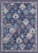 Product Image of Traditional / Oriental Navy, Teal, Charcoal, Dark Brown (MRC-2317) Area Rug