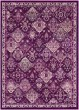Product Image of Traditional / Oriental Fuchsia, Navy, Charcoal, Pale Blue (MRC-2318) Area Rug