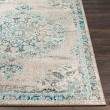 Product Image of Light Gray, Camel, Teal (LAL-2321) Mandala Area Rug