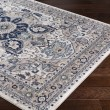 Product Image of Navy, Sky Blue, Charcoal, Butter (AHN-2309) Traditional / Oriental Area Rug