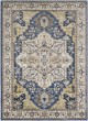 Product Image of Traditional / Oriental Navy, Charcoal, Butter, Ivory (AHN-2300) Area Rug