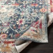 Product Image of Navy, Charcoal, Bright Red (BOM-2304) Vintage / Overdyed Area Rug