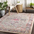 Product Image of Grey, Pink, Navy (BOM-2308) Bohemian Area Rug