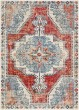 Product Image of Bright Red, Taupe, Navy (BOM-2300) Bohemian Area Rug