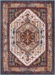 Product Image of Traditional / Oriental Navy, Red, Orange (PIA-2309) Area Rug