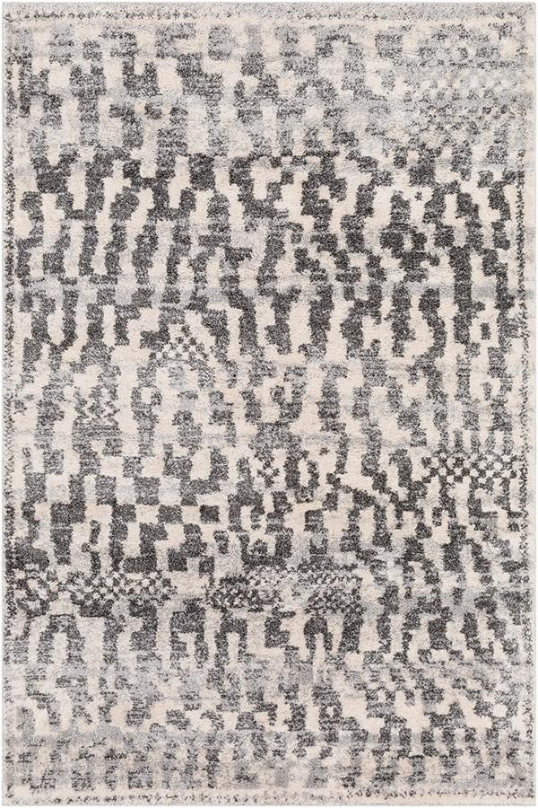 Surya Flokati Pixeled Modern Area Rugs
