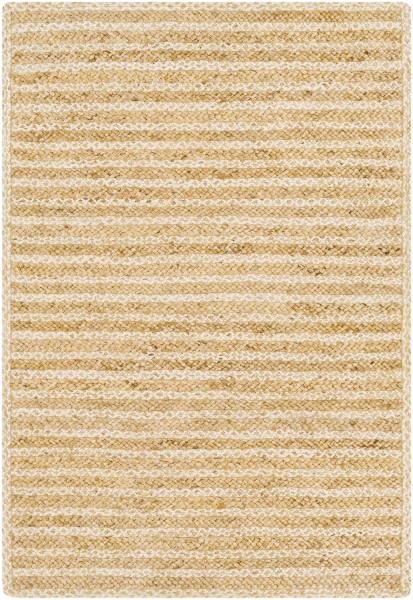 Wheat, Ivory Natural Fiber Area Rug