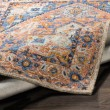 Product Image of Burnt Orange, Blue, Grey Traditional / Oriental Area Rug