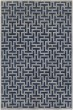 Product Image of Dark Blue, Medium Grey Geometric Area Rug