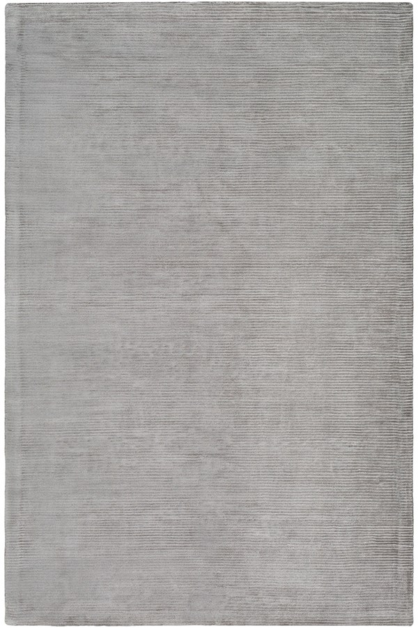 Medium Grey Casual Area Rug