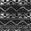 Product Image of Black, Medium Grey, White Bohemian Area Rug
