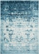 Product Image of Aqua, Sky Blue, White Vintage / Overdyed Area Rug