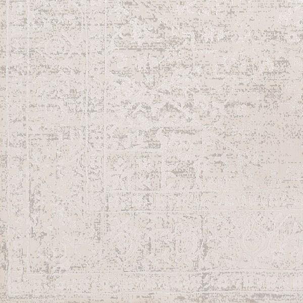 Medium Grey, White Vintage / Overdyed Area Rug