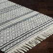 Product Image of Charcoal, White Rustic / Farmhouse Area Rug