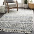 Product Image of Denim, White Rustic / Farmhouse Area Rug