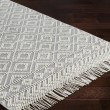 Product Image of Medium Grey, White Rustic / Farmhouse Area Rug