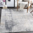 Product Image of Grey, Charcoal, Tan Abstract Area Rug