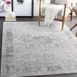 Product Image of Grey, White, Charcoal Vintage / Overdyed Area Rug