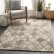 Product Image of Dark Brown, Taupe, Khaki Moroccan Area Rug