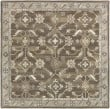 Product Image of Dark Brown, Black, Charcoal Traditional / Oriental Area Rug