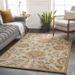 Product Image of Khaki, Mustard, Charcoal (JUS-1211) Traditional / Oriental Area Rug