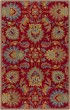 Product Image of Traditional / Oriental Red, Teal, Mustard (JUS-1213) Area Rug