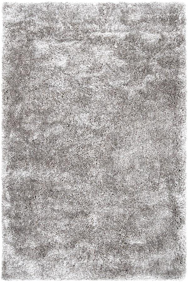 Light Grey Shag Area Rug
