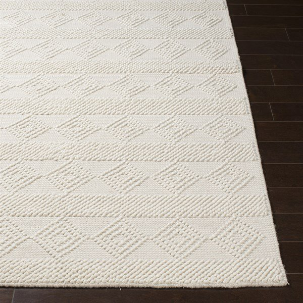 White Country Area Rug