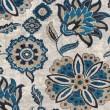 Product Image of Grey, Blue, Brown Floral / Botanical Area Rug