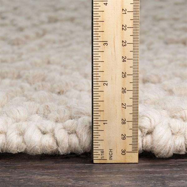 Cream, Taupe Rustic / Farmhouse Area Rug