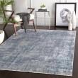 Product Image of Blue, Grey, White Vintage / Overdyed Area Rug