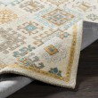 Product Image of Taupe, Mustard, Teal Traditional / Oriental Area Rug