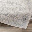 Product Image of Silver, Grey, Cream Traditional / Oriental Area Rug
