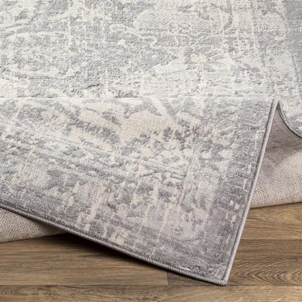 Grey Vintage / Overdyed Area Rug