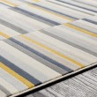 Product Image of Yellow Contemporary / Modern Area Rug