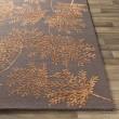 Product Image of Orange (STA-2304) Floral / Botanical Area Rug