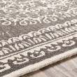 Product Image of Charcoal, Cream (WLY-2305) Bordered Area Rug