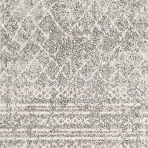 Grey (RIZ-2340) Moroccan Area Rug