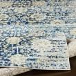 Product Image of Blue, Ivory, Yellow Vintage / Overdyed Area Rug