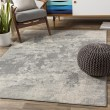 Product Image of Grey, Khaki (CLY-2320) Contemporary / Modern Area Rug