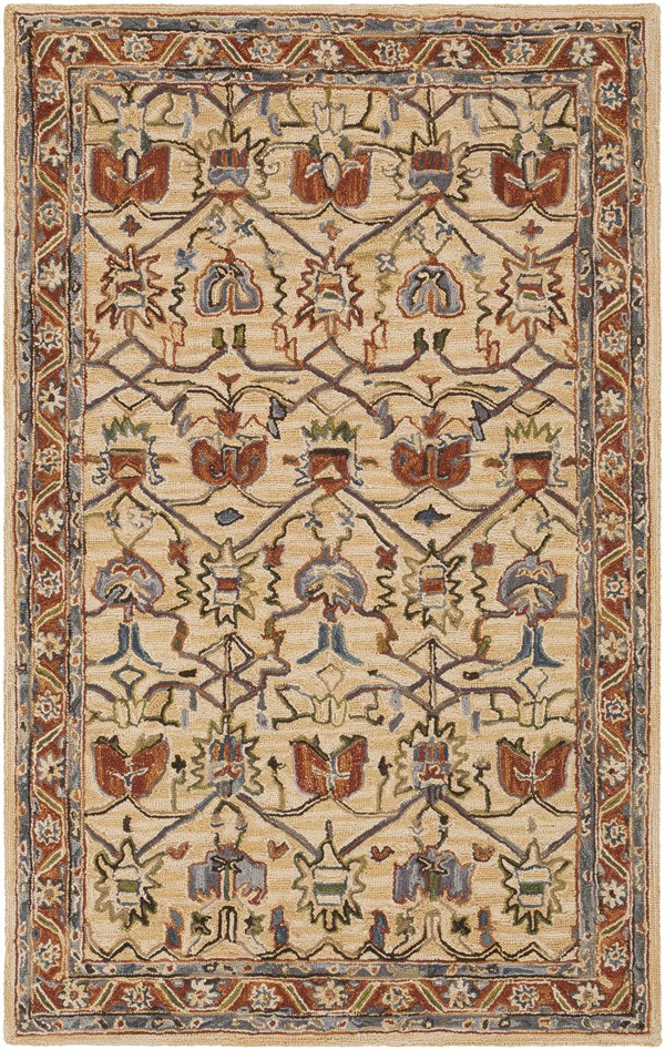 Clay (AES-2302) Traditional / Oriental Area Rug