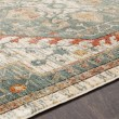 Product Image of Teal, White, Orange (HER-2300) Bohemian Area Rug