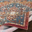 Product Image of Orange, Blue, Red (HER-2301) Bohemian Area Rug