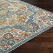 Product Image of Aqua, Yellow, Rust (HER-2317) Bohemian Area Rug